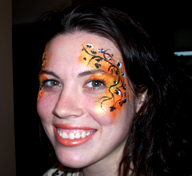 Fall Fairy Face Painting